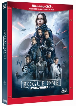 Locandina italiana DVD e BLU RAY Rogue One: A Star Wars Story