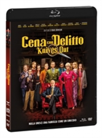 Locandina italiana DVD e BLU RAY Cena con delitto - Knives Out