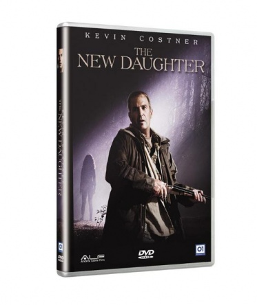 Locandina italiana DVD e BLU RAY The New Daughter