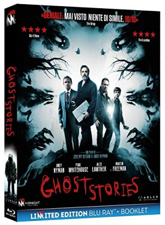 Locandina italiana DVD e BLU RAY Ghost Stories