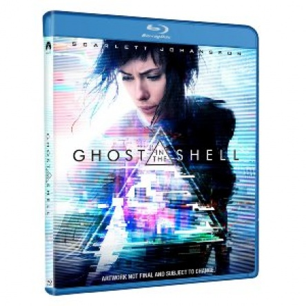 Locandina italiana DVD e BLU RAY Ghost in the Shell