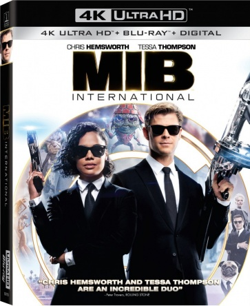 Locandina italiana DVD e BLU RAY Men in Black: International