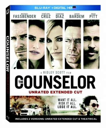 Locandina italiana DVD e BLU RAY The Counselor - Il procuratore