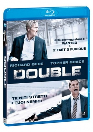 Locandina italiana DVD e BLU RAY The Double