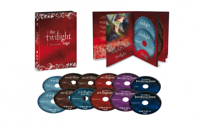 Locandina italiana DVD e BLU RAY Twilight