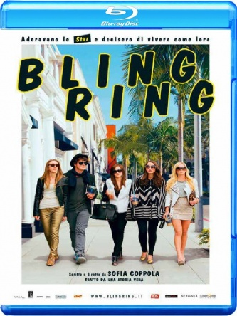 Locandina italiana DVD e BLU RAY Bling Ring