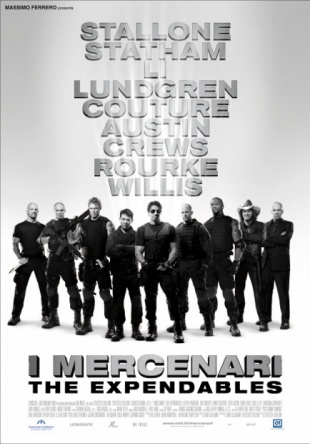 Locandina italiana I mercenari - The Expendables