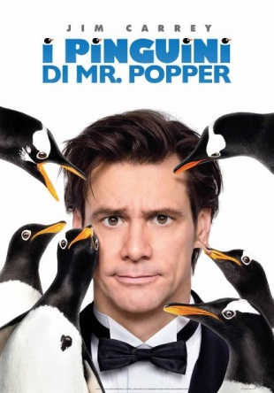 Locandina italiana I pinguini di Mr. Popper