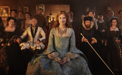 Anonymous - Joely Richardson 'Principessa Elizabeth Tudor' in una foto promozionale - Photo: Reiner Bajo.