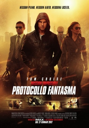 Locandina italiana Mission: Impossible - Protocollo fantasma