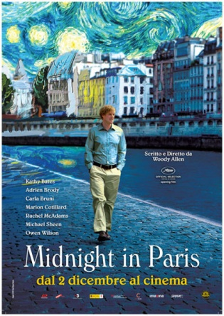 Locandina italiana Midnight in Paris