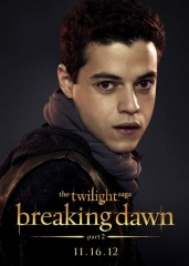 The Twilight Saga: Breaking Dawn-Parte 2 - Character Poster di 'Benjamin' (Rami Malek) - The Twilight Saga: Breaking Dawn - Parte 2