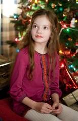 The Twilight Saga: Breaking Dawn-Parte 2 - Mackenzie Foy 'Renesmee' in una foto di scena - The Twilight Saga: Breaking Dawn - Parte 2