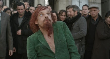 Holy Motors - Denis Lavant 'Il Mendicante' in una foto di scena - Holy Motors
