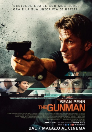 Locandina italiana The Gunman