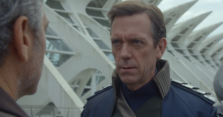 Tomorrowland-Il mondo di domani - (L to R): George Clooney 'Frank Walker' e Hugh Laurie 'David Nix' in una foto di scena - Tomorrowland - Il mondo di domani