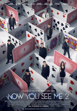 Locandina italiana Now You See Me 2 - I maghi del crimine