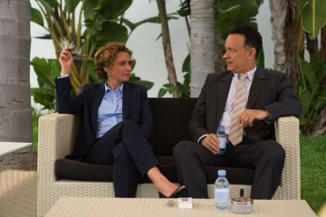 Aspettando il re - Sidse Babett Knudsen 'Hanne' con Tom Hanks 'Alan Clay' in una foto di scena - Aspettando il re