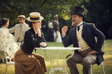 Colette - Keira Knightley 'Colette' con Dominic West 'Willy' in una foto di scena - Colette