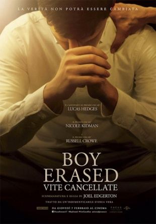 Locandina italiana Boy Erased - Vite cancellate