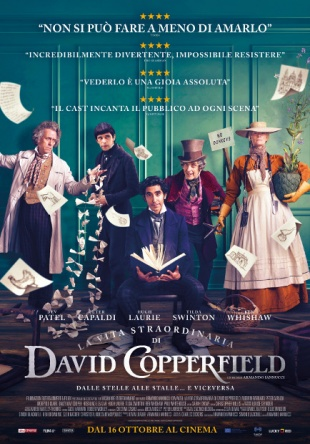 Locandina italiana La vita straordinaria di David Copperfield
