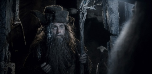Lo Hobbit: La desolazione di Smaug - Sylvester McCoy 'Radagast' in una foto di scena - Photo Credit: Courtesy of Warner Bros. Pictures.