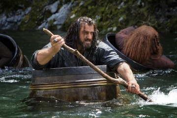 Lo Hobbit: La desolazione di Smaug - Richard Armitage 'Thorin Oakenshield' in una foto di scena - Photo Credit: Mark Pokorny.