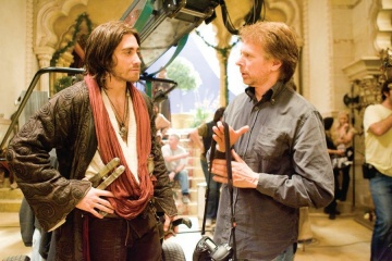 PRINCE OF PERSIA: THE SANDS OF TIME - (L-R) Jake Gyllenhaal e Jerry Bruckheimer - Foto: Andrew Cooper, SMPSP