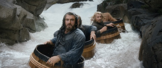 Lo Hobbit: La desolazione di Smaug - (L to R): Richard Armitage 'Thorin Oakenshield' e Dean O'Gorman 'Fili' in una foto di scena - Photo Credit: Courtesy of Warner Bros. Pictures.