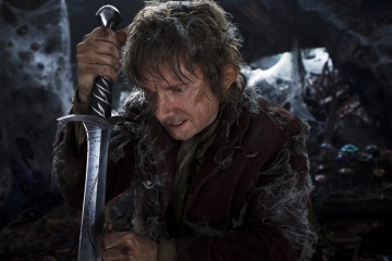 Lo Hobbit: La desolazione di Smaug - Martin Freeman 'Bilbo Baggins' in una foto di scena - Photo Credit: Mark Pokorny.