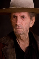 Film Title: Rango - L'attore Harry Dean Stanton, voce originale di 'Balthazar' sul set - Photo Credit: Stephen Vaughan