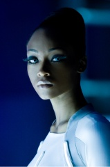 TRON : LEGACY - Yaya DaCosta 'Siren' - Ph: Douglas Curran.