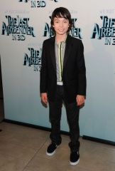The Last Airbender - L'attore Noah Ringer (Aang).