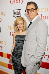 Morning Glory - Rachel McAdams, 'Becky Fuller' con Jeff Goldblum, 'Jerry Barnes' - World Premiere al Ziegfield Theatre di New York, USA, 7 Novembre 2010.