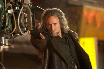 THE SORCERER'S APPRENTICE - L'attore NICOLAS CAGE sul set - Photo: Abbot Genser