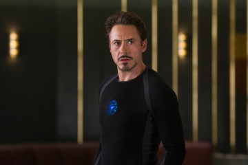The Avengers - Robert Downey Jr. 'Tony Stark/Iron Man' in una foto di scena - Photo Credit: Zade Rosenthal.