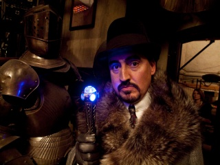 THE SORCERER'S APPRENTICE - L'attore ALFRED MOLINA sul set - Photo: Robert Zuckerman
