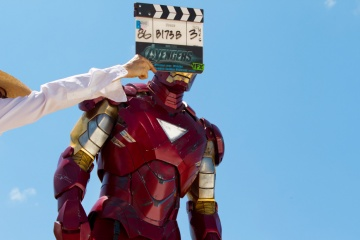 The Avengers - Robert Downey Jr. 'Tony Stark/Iron Man' sul set - Photo Credit: Zade Rosenthal.