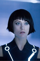 TRON : LEGACY - Olivia Wilde 'Quorra' - Ph: Douglas Curran.