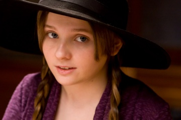 Film Title: Rango - L'attrice Abigail Breslin, voce originale di 'Priscilla' sul set - Photo Credit: Stephen Vaughan