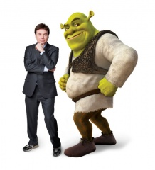 Shrek Forever After - MIKE MYERS è la voce originale di Shrek.