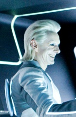 TRON : LEGACY - Michael Sheen 'Castor/Zuse' - Ph: Douglas Curran.