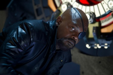 The Avengers - Samuel L. Jackson 'Nick Fury' in una foto di scena - Photo Credit: Zade Rosenthal.