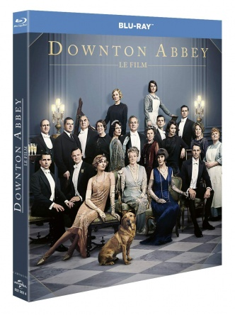 Locandina italiana DVD e BLU RAY Downton Abbey
