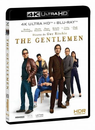 Locandina italiana DVD e BLU RAY The Gentlemen