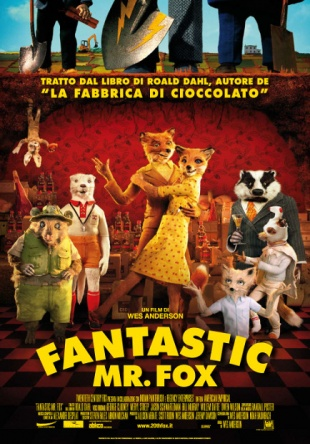 Locandina italiana Fantastic Mr. Fox