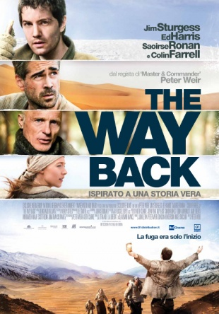 Locandina italiana The Way Back