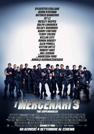 Locandina italiana I mercenari 3 - The Expendables