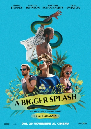 Locandina italiana A Bigger Splash
