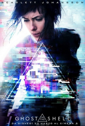Locandina italiana Ghost in the Shell